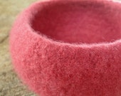The Giving Bowl - Organic Wool Felted Bowl - Blossom Medium - READY TO SHIP