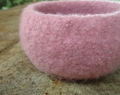 The Giving Bowl - Organic Wool Felted Bowl - Lotus Small - Ready To Ship