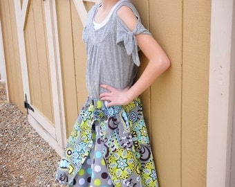 Twirly Girls Two Tiered Skirt