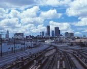 Photography, Los Angeles, Downtown Skyline, City