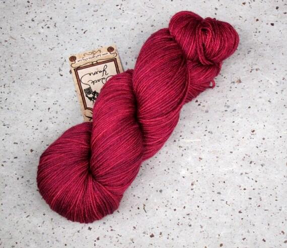 Proserpine, merino/silk fingering weight yarn