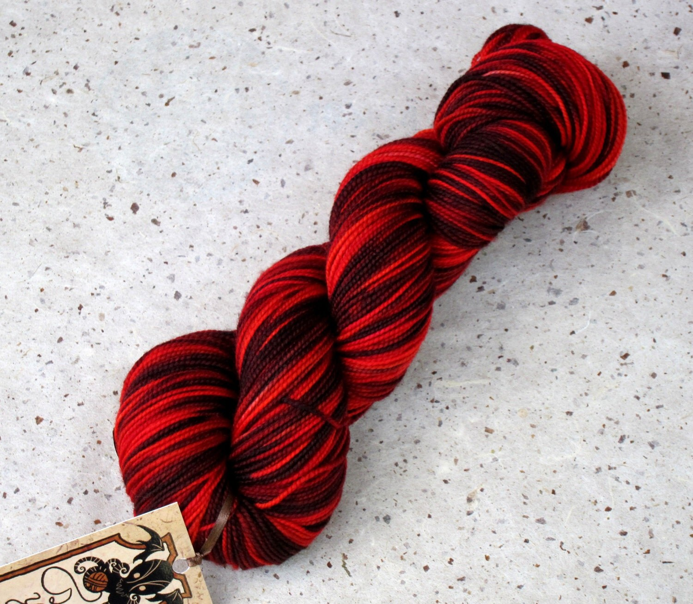 Quaithe of the Shadow 100% superwash merino sock yarn by ... Quaithe Of The Shadow