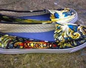 Doctor Who Van Gogh Custom Shoes (Reserved for Mary)