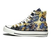 Custom Doctor Who Inspired shoes