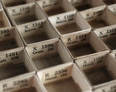 100 Tiny Paperboard Watch Crystal Boxes for Assemblage Shrines Shadow Box  Altered Art Creations