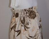 Maternity skirt, Spring floral skirt, Skirt, Maternity skirt