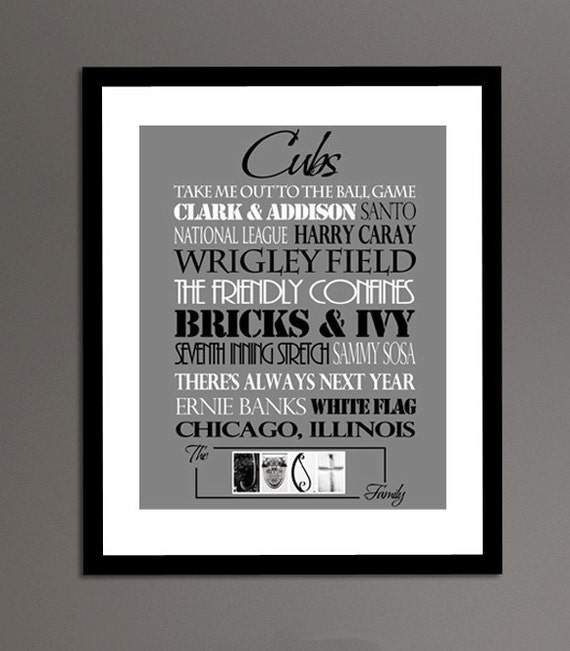 Chicago Cubs Print or Canvas