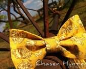 "Bow Tie - ""Butterflies"" - Adjustable Strap"