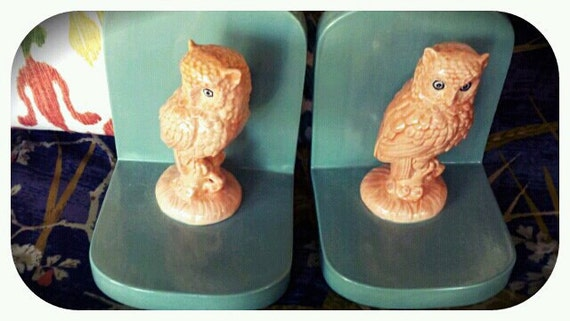 Pair of Owl Book-ends