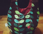 Reversible and Washable Lunch Tote Bag