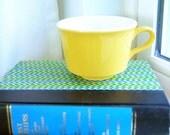 Vintage Yellow Mug