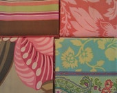 Amy Butler four fat quarters, assorted Charm, Ginger Bliss