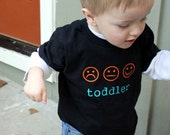 Toddler T-Shirt - The Many Moods of Toddlers