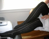 """The """"Stand At Attention"""" Wool Stockings, Thigh High, Made to Order, """"Stand Collection"""""""