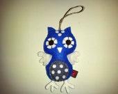 Felt Owl Ornament Decoration Softie Plushie Eco Felt Gift MADE TO ORDER