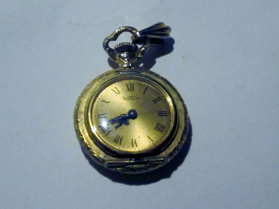 Vintage Gold Tone Mini Pocket Watch NOS 57A DISCOUNTED