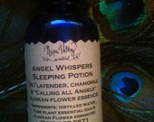 Angel Whispers Sleeping Potion in 2oz. glasss bottle with atomizer