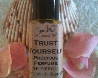 Natural Perfume - Trust Yourself roll-on (w/Neroli, Patchouli & Green Bog Orchid) 1/4oz
