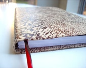 Notebook: Animal Print, Christmas, Stocking Stuffer, Blank, Unlined Journal, Sketchbook, Wild, Fun, For Her, Kids, Teen, Gift, Unique