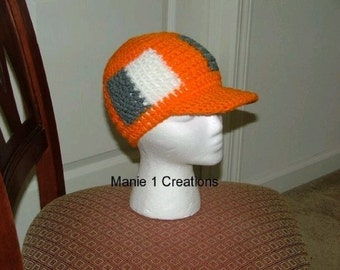 Manie One Crochet Hard Brimmed Cap