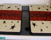 Primitive Country  Inspirational Stove Burner Covers