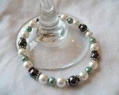 Elegant Beaded Bracelet... Great St. Patrick's Day or Mothers Day Gift