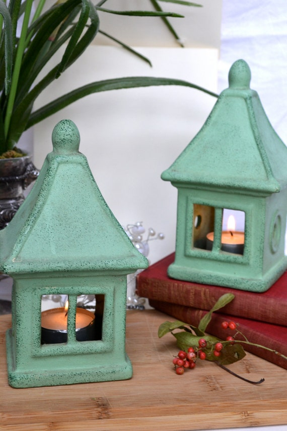 Vintage Tealight Lanterns