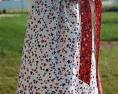 Patriotic Stars Pillowcase Dress