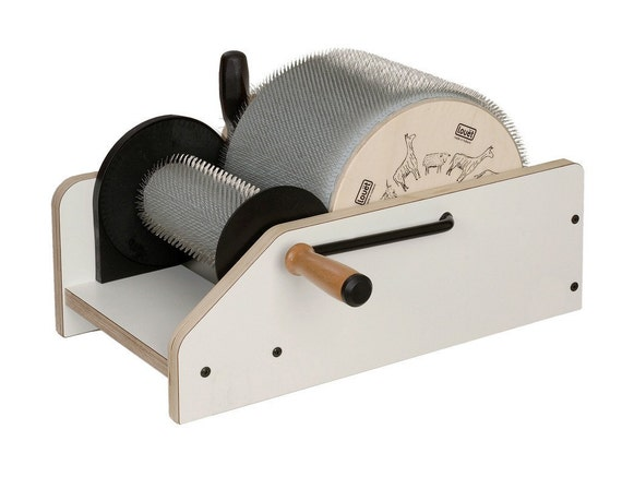 RESERVED. Fiber lover Saundra is getting this fantastic Louet CLASSIC Drum Carder for Crazy Art Batts - Thanks
