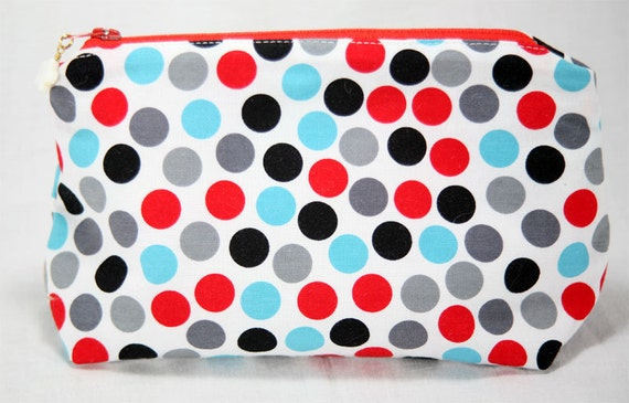 Dotty Notions Pouch Small Wedge Bag
