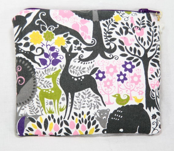 Mini Notions Pouch  - Fairytale Forest