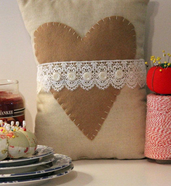 Shabby Chic Pillows On Etsy : Items similar to Shabby Chic Pillow on Etsy