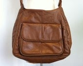 C-Bags Large Brown Leather Purse