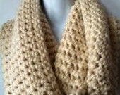 Lovely Chunky Infinity Scarf_free ship~choice of color