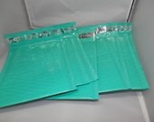 10 pack of 6x9 Glossy Teal Poly Bubble Mailers Self Adhesive Envelopes Padded Mailing Envelopes
