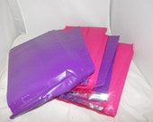 20 Purple and Pink 10 Each Poly Bubble Mailers Self Seal Envelopes size 0 6x9 size Padded Mailing Shipping Envelopes