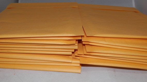 100 6 x 9  Kraft Bubble Mailer Self Seal Envelopes- size 00 (6 x 9.5 usable space