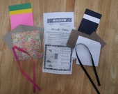 Star Book Album Kit - Do-It-Yourself Kit to Make 2 Pocket Albums - Imported Handmade Paper