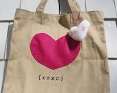 We Love Hearts  Kids Tote Bag
