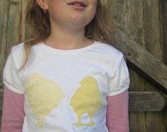 Baby Chicks Kids T-shirt Farm Animals