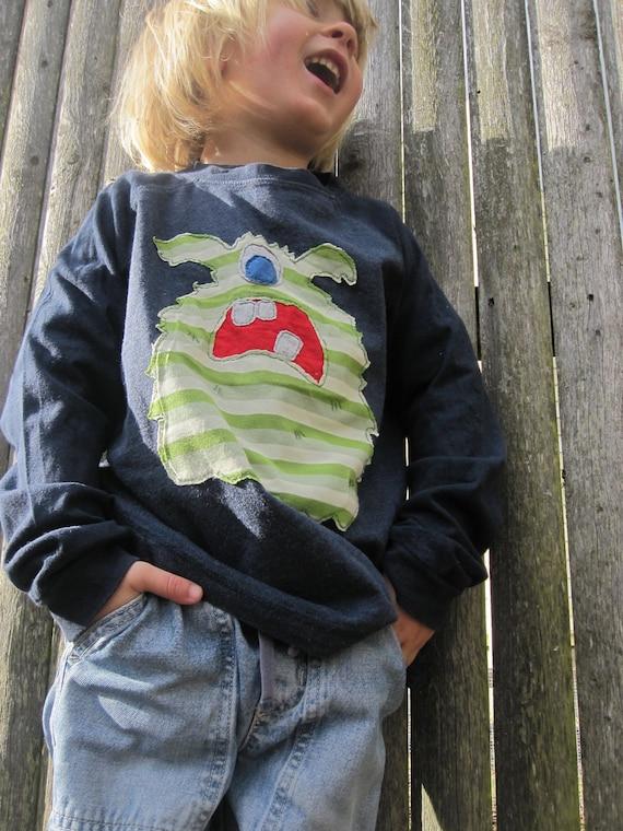 I Am Not A Monster Funky  Kids T shirt