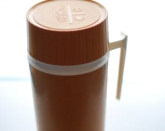 The Classic Mustard Yellow Retro Thermos