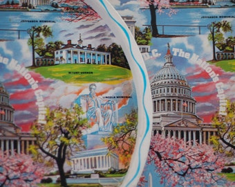 Vintage Souvenir Tray from Washington, D.C.