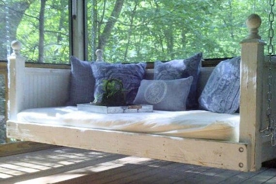Shabby Chic Day Bed Porch Swing