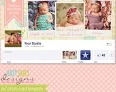 Birth Announcement Facebook Timeline Cover
