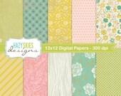 Digital Scrapbook Papers and Digital Paper Packs - DP101