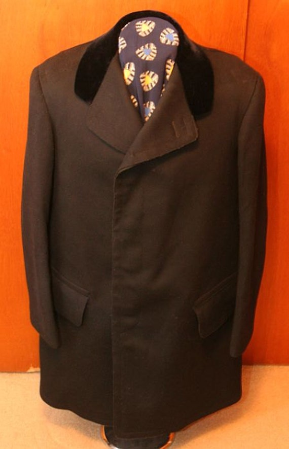 Edwardian Chesterfield Coat, large size