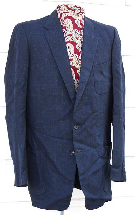 Reserved for Damian.   50% OFF - Rough 1950s sports coat, large size