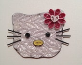 Quilled Hello Kitty
