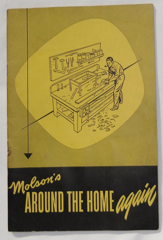 Advertising Booklet / Molson's Around The Home Again / Beer Promotion
